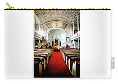 Carry-all Pouch featuring the photograph Aisle Of God by Greg Fortier