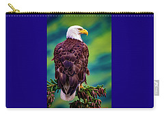 Alaska Bald Eagle Carry-all Pouch