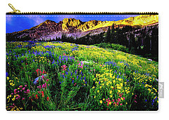 Carry-all Pouch featuring the photograph Albion Basin by Norman Hall