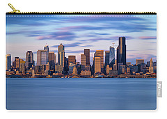 Almost Sunset In Seattle  Carry-all Pouch by Ken Stanback