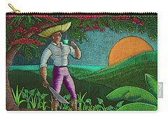 Amanecer En Borinquen Carry-all Pouch by Oscar Ortiz