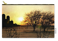 Amarillo Sunset Carry-all Pouch by Ricky Dean