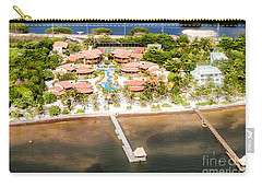 Ambergris Caye Aerial View Carry-all Pouch