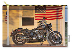 American Pride. Harley Davidson Carry-all Pouch