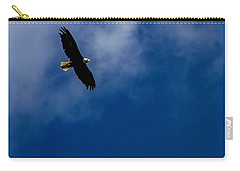 Carry-all Pouch featuring the photograph American Pride  by Ken Frischkorn