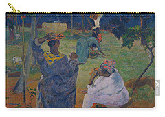 Among The Mangoes At Martinique Carry-all Pouch by Paul Gauguin
