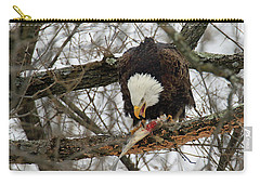 An Eagles Meal Carry-all Pouch by Brook Burling