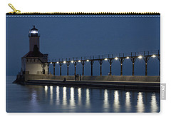 An Evening At The Lighthouse Carry-all Pouch