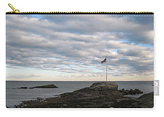 Carry-all Pouch featuring the photograph Anchor Beach by John Scates