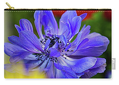 Anemone Blue Carry-all Pouch