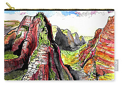 Angels Landing-zion Carry-all Pouch