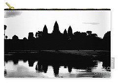 Angkor Wat Black  Carry-all Pouch
