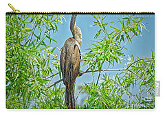 Anhinga Branching Out Carry-all Pouch by Judy Kay