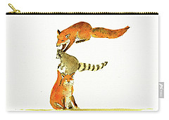Animal Letter Carry-all Pouch