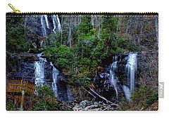 Anna Ruby Falls Carry-all Pouch by Barbara Bowen