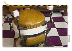Antique Barber Chair 3 Carry-all Pouch
