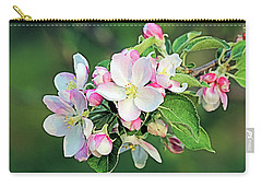 Apple Blossoms Carry-all Pouch by Kristin Elmquist