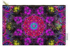 Carry-all Pouch featuring the digital art April Rain by Robert Orinski