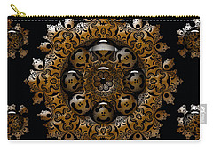 Carry-all Pouch featuring the digital art April's Fool by Robert Orinski