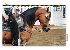 Arabian Show Horse 3 Carry-all Pouch