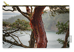 Arbutus Tree Carry-all Pouch by Sabine Edrissi