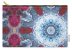 Arctic Blossom Carry-all Pouch by Maria Watt