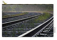 Carry-all Pouch featuring the photograph Around The Bend by Douglas Stucky