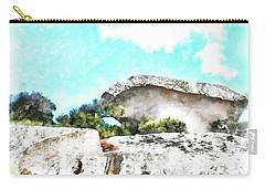 Arzachena Mushroom Rock Carry-all Pouch