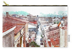 Arzachena View Of The Corso Garibaldi Carry-all Pouch