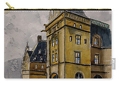 Asheville Castle In The Mountains Carry-all Pouch