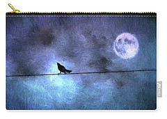 Carry-all Pouch featuring the photograph Ask Me For The Moon by Jan Amiss Photography
