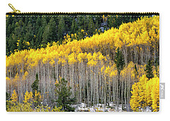 Aspen Trees In Fall Color Carry-all Pouch