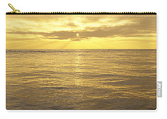Carry-all Pouch featuring the digital art Ocean View by Mark Greenberg