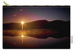 At The Waters Edge Carry-all Pouch by Loni Collins