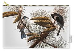 Audubon: Titmouse Carry-all Pouch