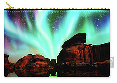 Aurora Over Lagoon Carry-all Pouch
