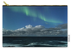 Auroras And Clouds Carry-all Pouch