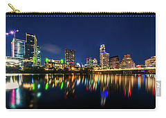Carry-all Pouch featuring the photograph Austin City Limits by Andy Crawford
