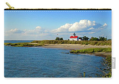 Autumn At East Point Lighthouse Carry-all Pouch