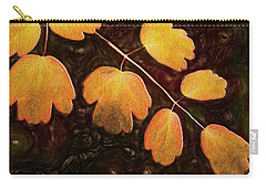Carry-all Pouch featuring the photograph Autumn Breeze by Paul Wear