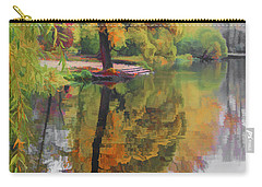 Carry-all Pouch featuring the photograph Autumn Colors by Vladimir Kholostykh