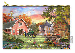 John Deere Digital Art Carry-All Pouches