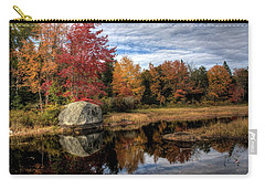 Autumn In Maine Carry-all Pouch by Greg DeBeck