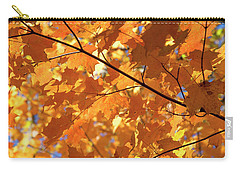 Autumn Leaves Carry-all Pouch by David Stasiak