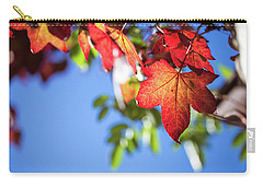 Carry-all Pouch featuring the photograph Autumn Leaves  by Jingjits Photography