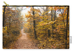 Autumn Morning Carry-all Pouch by Ricky Dean