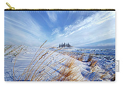Carry-all Pouch featuring the photograph Azure by Phil Koch