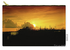 Backbay Sunset Carry-all Pouch by Scott Cameron
