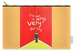 Bad Boy Greeting Card Carry-all Pouch