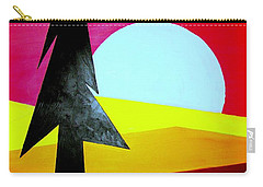 Big Bad Moon Rising Carry-all Pouch by J R Seymour